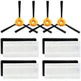 Replacement Filter & Side Brush Accessory Kit for Ecovacs DEEBOT N79 Robotic Vacuum Cleaner