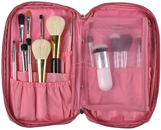 Juju - Estuche para brochas de maquillaje, estuche, estuche, estuche, estuche, caja de papelería, bolso de viaje: Amazon.es: Hogar