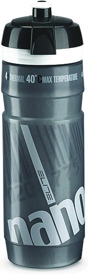 Elite Nanogelite - Bidón de Ciclismo, Color Gris, 500 ml: Amazon.es ...