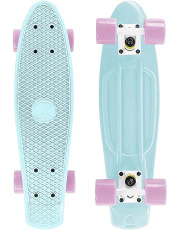 9527a3ae32b Cal 7 Complete Mini Cruiser   22 Inch Micro Board   Vintage Skateboard for  School and