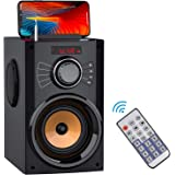Portable Bluetooth Speaker with Subwoofer Wireless Speakers Outdoor/Indoor Big Speaker Support Remote Control FM Radio TF Car