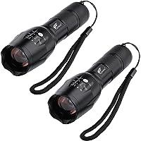 2-PK. Hausbell T6 LED Flashlight