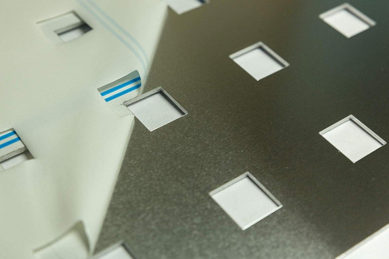 Lochbleche z.B als Gel/änderf/üllung QG20-50 1,5mm Edelstahl