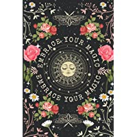 Embrace Your Magic: Journal with Basic Astrology Natal Chart. Spiritual Notebook for Sun and Moon Lovers. Boho Vibe