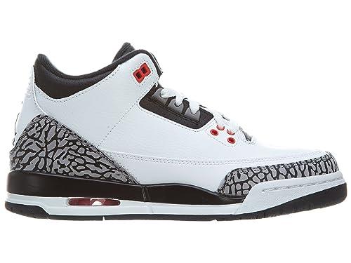 Nike Air Jordan 3 Retro Bg, Zapatillas de Deporte para Niños: Jordan: Amazon.es: Zapatos y complementos