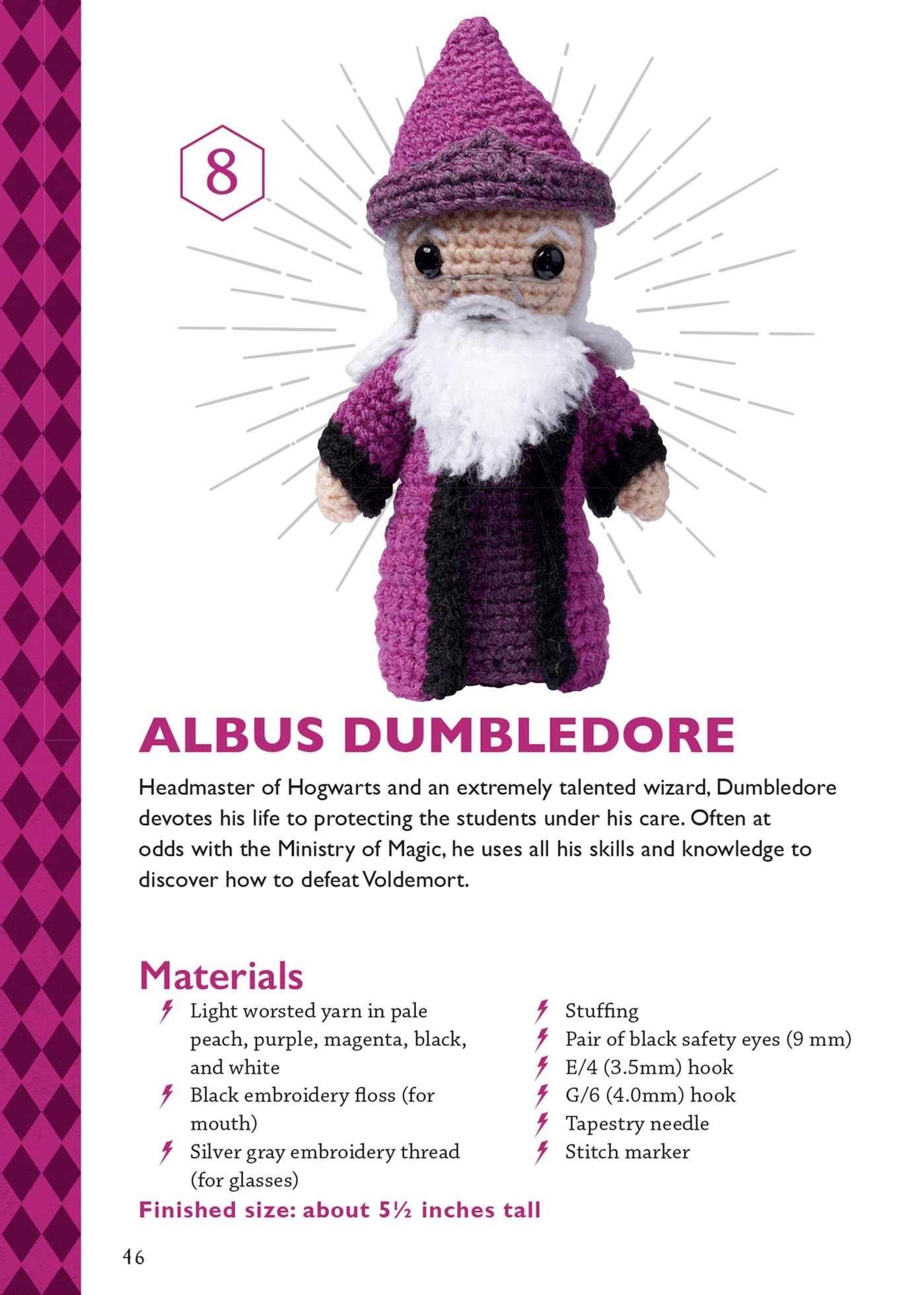 12 Harry Potter Crochet Patterns (Free!) | AllFreeCrochet.com | 1960x1399