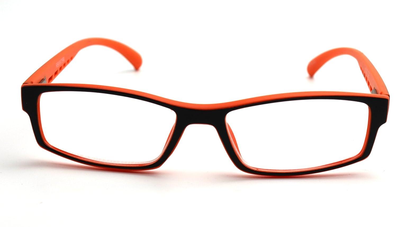 Colorviper Soft Matte Black w// 2 Tone Reading Glasses Spring Hinge 0.74 Oz