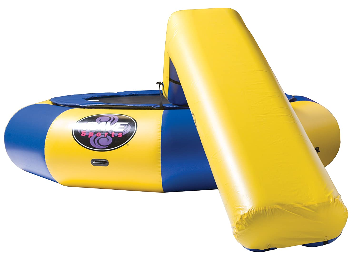 Yellow-Colored Aqua Slide by Rave Sports - best at providing non-stop fun