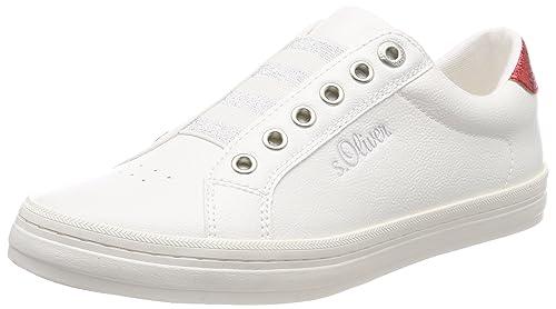 s.Oliver 24622, Zapatillas para Mujer, Azul (Navy), 41 EU