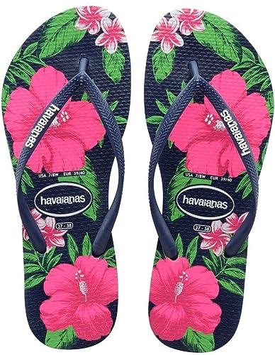 Havaianas Flip Flops Women Slim Floral  Amazon.co.uk  Shoes   Bags ee3c62f044
