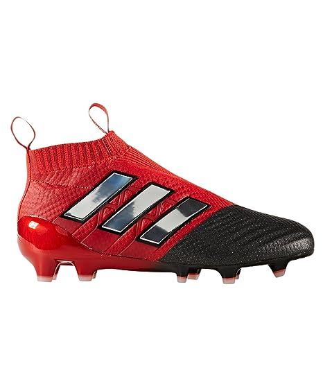 online retailer ff6de f26e5 Adidas Ace 17+ Purecontrol rojo Limit FG botas de f uacute tbol para  ni ntilde
