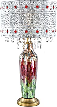 River of Goods Gracie's Crystal Table Lamp