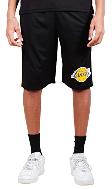 2198d0c3ef712 Amazon.com : Ultra Game UNK NBA Los Angeles Lakers Men's Mesh Athletic  Active Basketball Shorts, Black, X-Large : Clothing