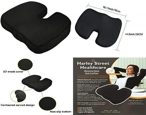 Textile Arena Harley Street® - Cojín de Espuma viscoelástica ...