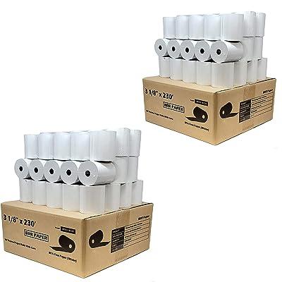 citizen thermal printer paper ct-s801 BuyRegisterRolls DropShip 3 1 8 x 230 thermal paper 50 Rolls bpa free