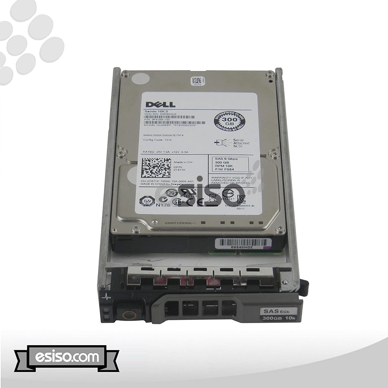 "New Dell PowerEdge 1950 300GB 10K SATA 2.5/"" Hard Drive 1 Year Warranty"