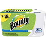 Bounty 95026 Select-a-Size Perforated Roll Towels 11 x 5.9 White 95 Sheets/Roll 12/Pack