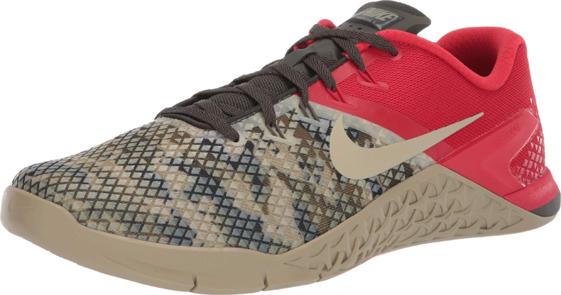 Nike Metcon 4 XD Men's Training Shoe Sequoia/University RED-Olive Canvas 7.5