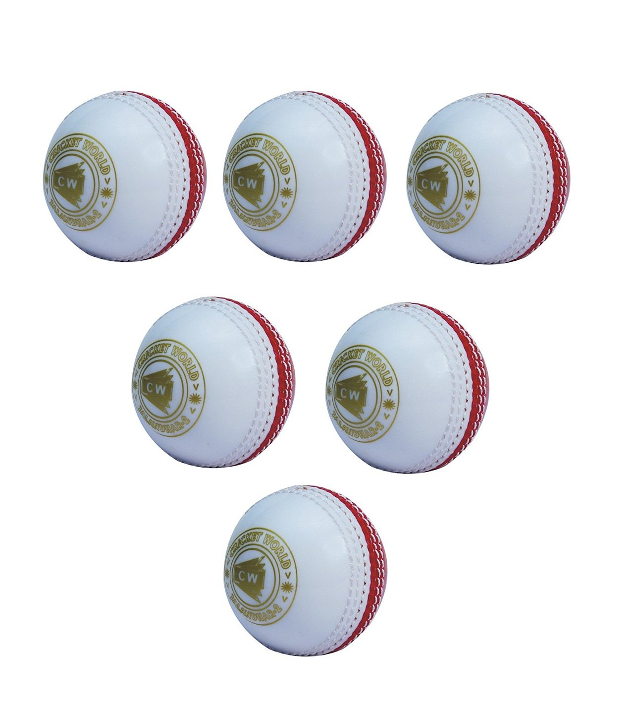CW Balle de cricket Incroyable Poly souple (lot de 6) cricket_43