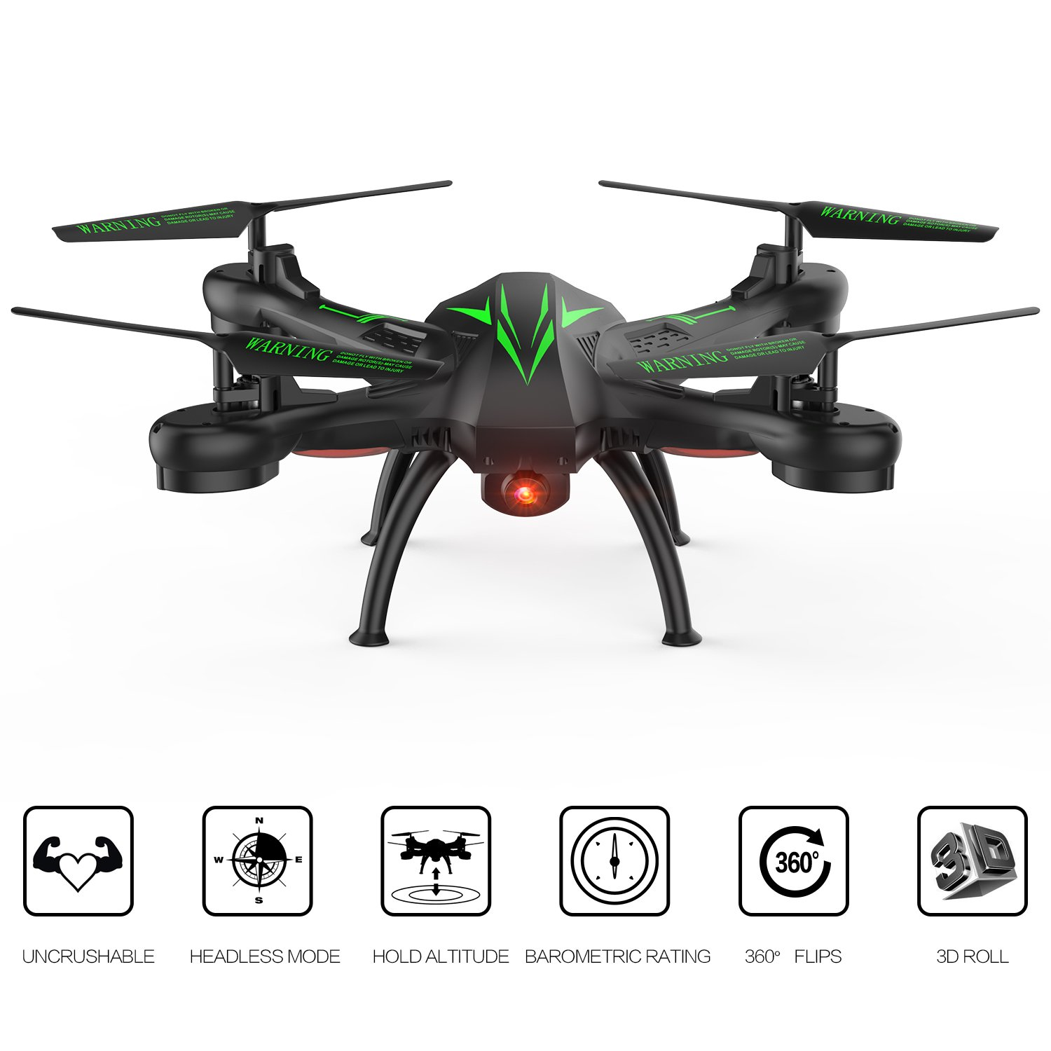 Beebeerun Wifi FPV Quadcopter Drone with Camera