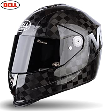 Bell Helmets Street 2015 M6 Carbon Casco Adulto, color Negro Solido Mate Square, talla