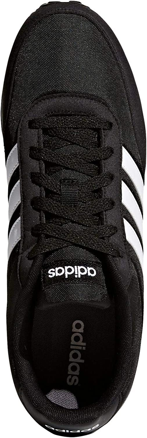 adidas V Racer 2.0, Zapatillas para Hombre, Negro (Core Black/Solar Red/Footwear White), 39 1/3 EU: Amazon.es: Zapatos y complementos