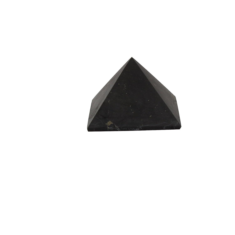 Pyramide Shungite Non Poli 5cm: Pierre De Gu/érison Naturelle Russe La Plus Haute Qualit/é Garantie Authentique D/écoration Pierres Purifiantes Protection Radiation Emf Equilibre Chakra