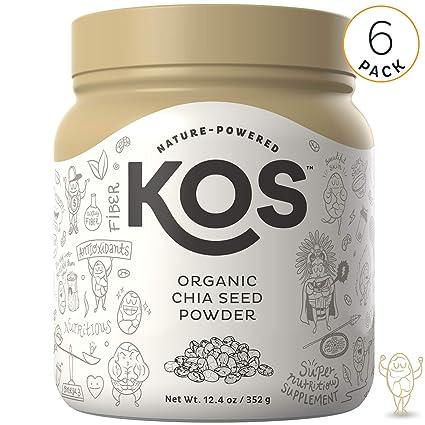 Polvo de semillas de chía orgánicas de KOS – Polvo de ...