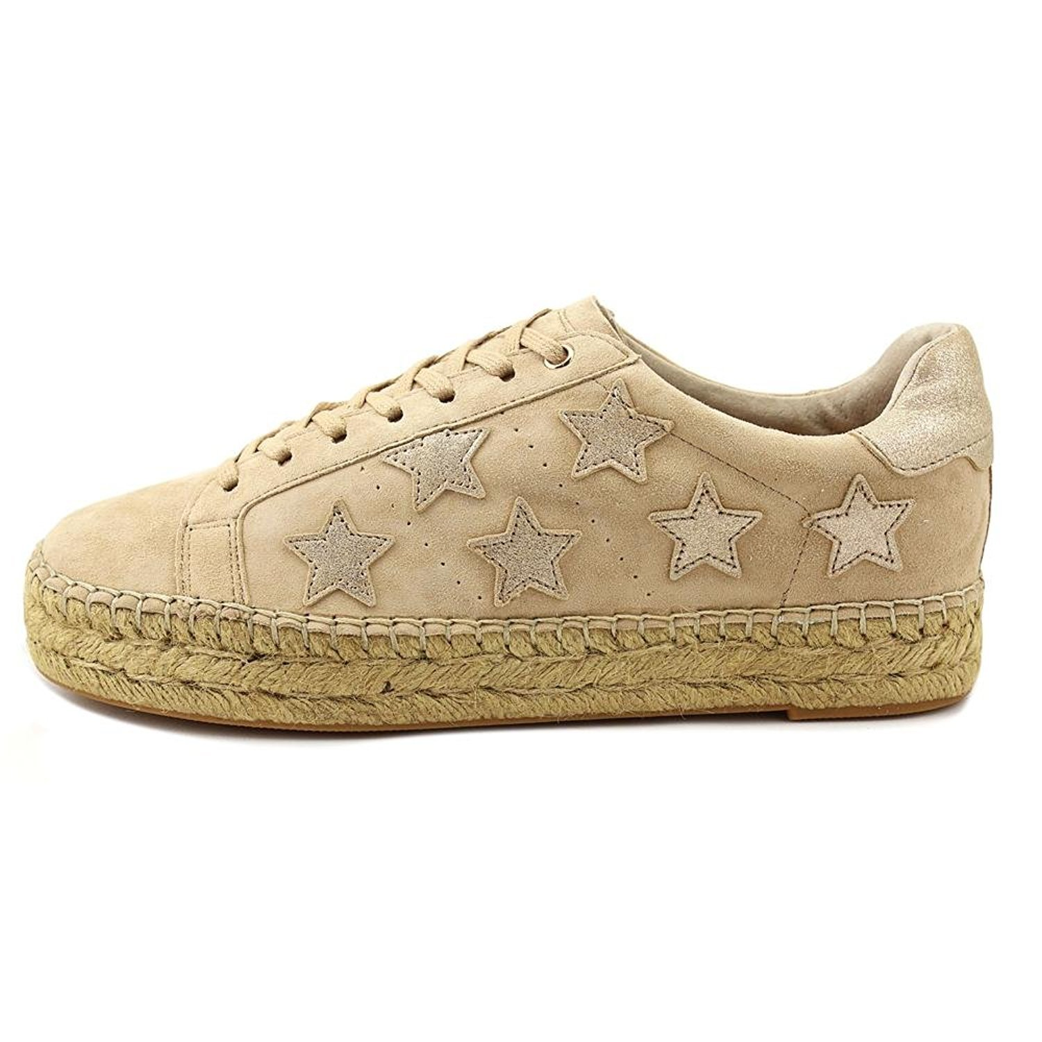 Marc Fisher Womens Marcia Leather Low Top Lace Up, Light Natural, Size 6.0 by Marc Fisher (Image #4)