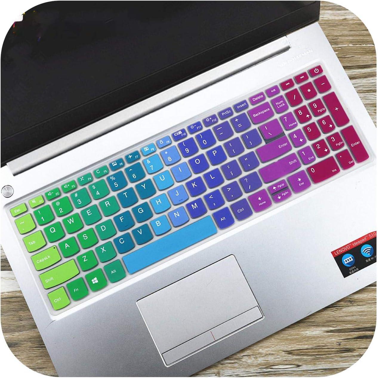 Laptop Keyboard Cover Skin for Lenovo Ideapad 330 S 15.6 15 330S V330 15 15Ich 15Ikb 15Igm V330 15 330S 15 330S 15Ikb-Fadegreen