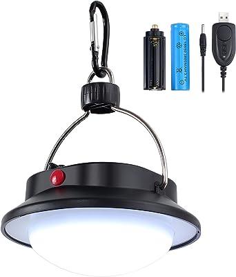 Compact Zoomable Noir DEL Lampe Lanterne à Main Tenue Torche Lampe Portable