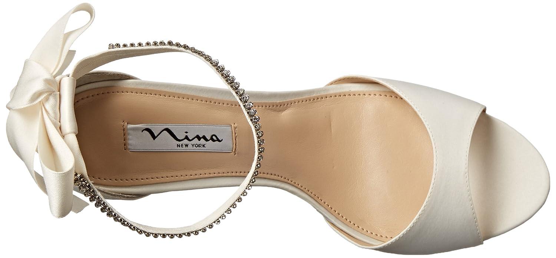 Nina Women's Vinnie LS Dress Pump B00N4MIP2G 6.5 B(M) US|Ivory