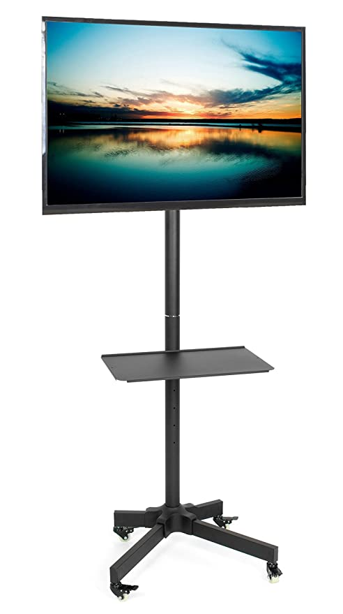 Vivo Mobile TV carrito para LCD LED Plasma de pantalla plana Panel soporte de suelo carro