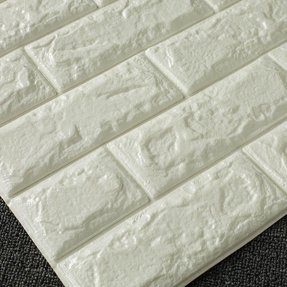Eizur removibili adesivo murali impermeabile 3d finta mattone ...