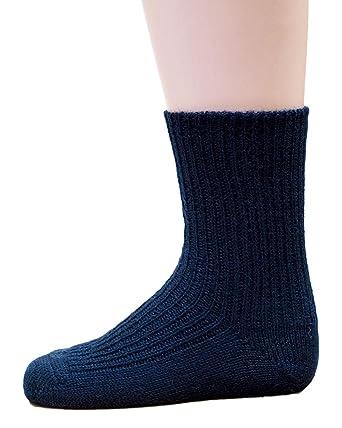 f4588024270fa8 Hirsch Natur, Grobstrick Socken Baby und Kinder, 100% Wolle (kbT ...