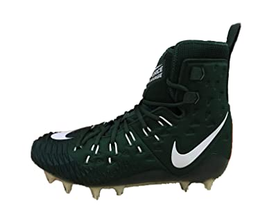 d4208e14b56 Image Unavailable. Image not available for. Color  NIKE Force Savage Elite  TD Men s Forest Green Football Cleats ...