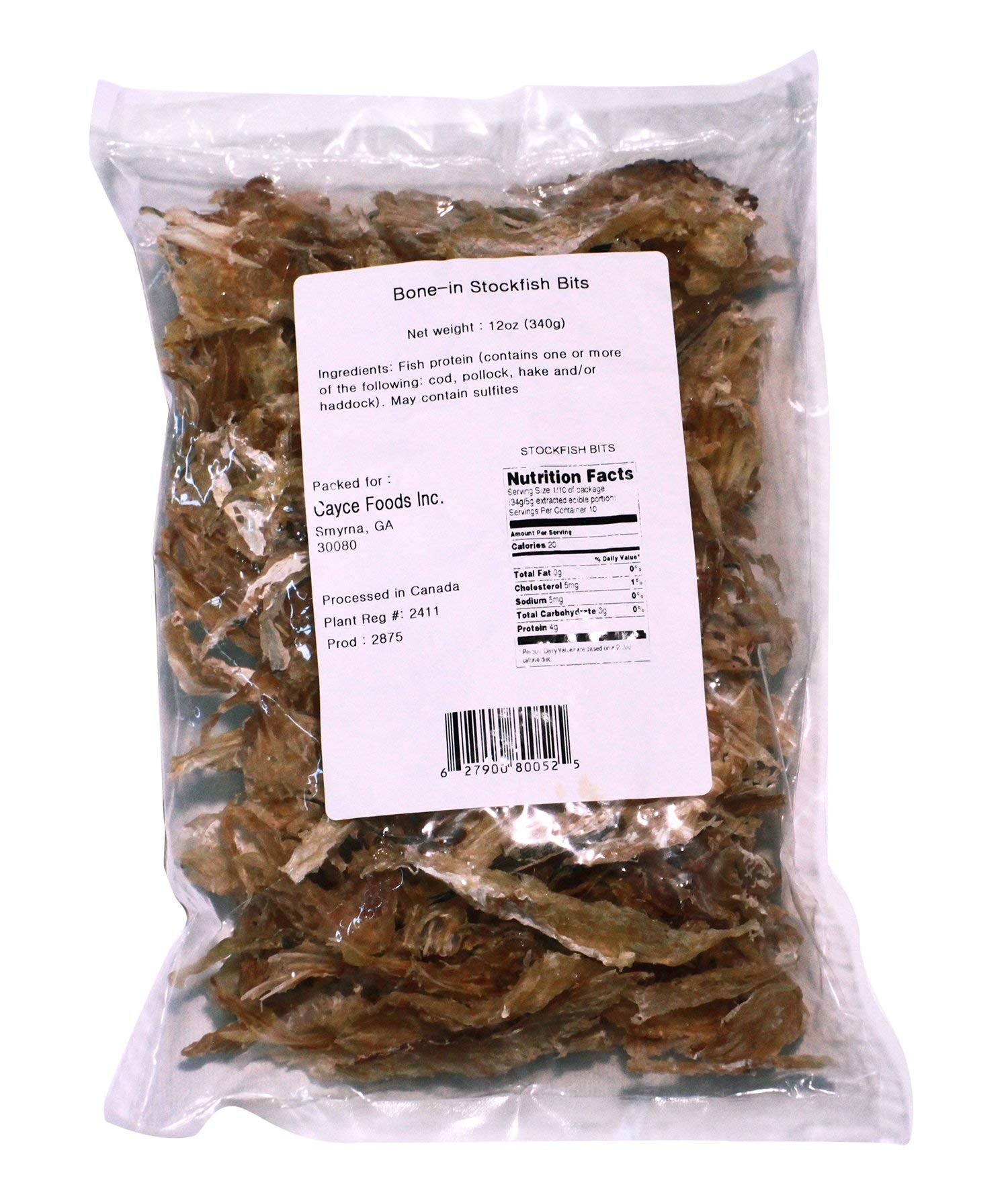 Stockfish Bits 12 oz Pack PLUS Free Wooden Utensil With Each Order by Nature's-Best