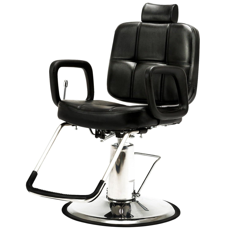Artist Hand Hydraulic Recline Barber Chair Salon Chair for Hair Stylist Heavy Duty Tattoo Chair Shampoo Beauty Salon Equipment LIMAOTONG