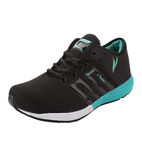 8366ecc79ba8 Xeroto Redon Stylish Black Green Gym Cricket Walking Training Sports ...