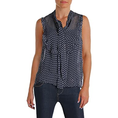 Amazon.com: Denim \u0026 Supply Ralph Lauren Womens Printed Sleeveless Casual  Top: Clothing