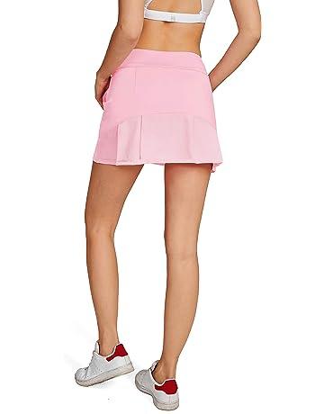 3f8564e1243 HonourSport-Jupe de Golf Mini Skort pour Fille Femme Activité Sport