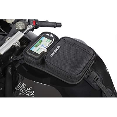 Cortech 8225-2405-00 Micro 2.0 Motorcycle Tank Bag, Black: Automotive