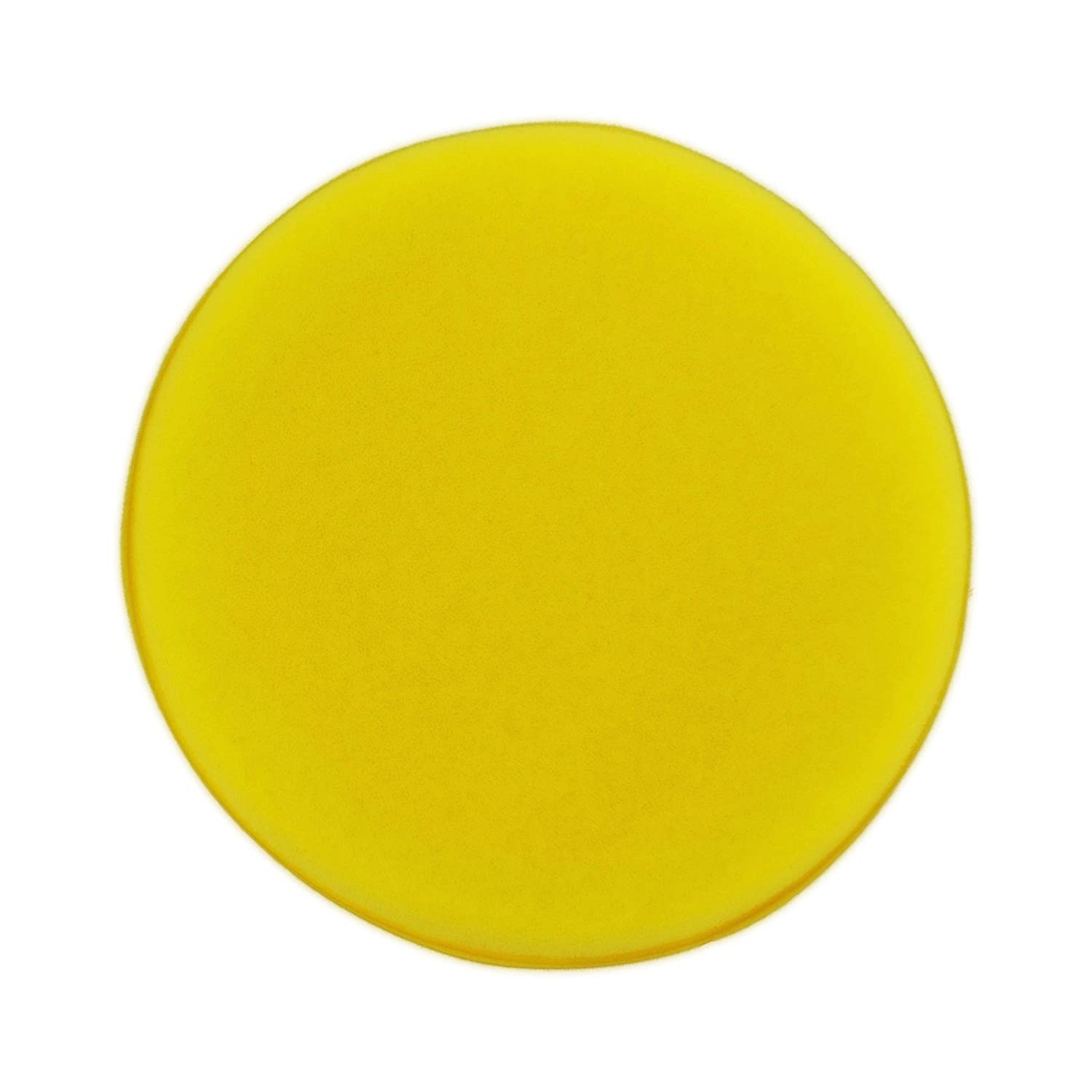 Polyte Foam Detailing Applicator Pad Yellow, 8 Pack, 4.3 in