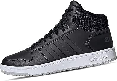 حذاء رياضي لكرة السلة برباط ونعل مختلف اللون للرجال من اديداس Hoops 2.0 Mid - 42 2/3 EU