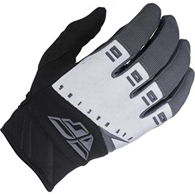 Fly Racing 2020 Youth F-16 Gloves (XXX-Small) (Black/White/Grey): Automotive
