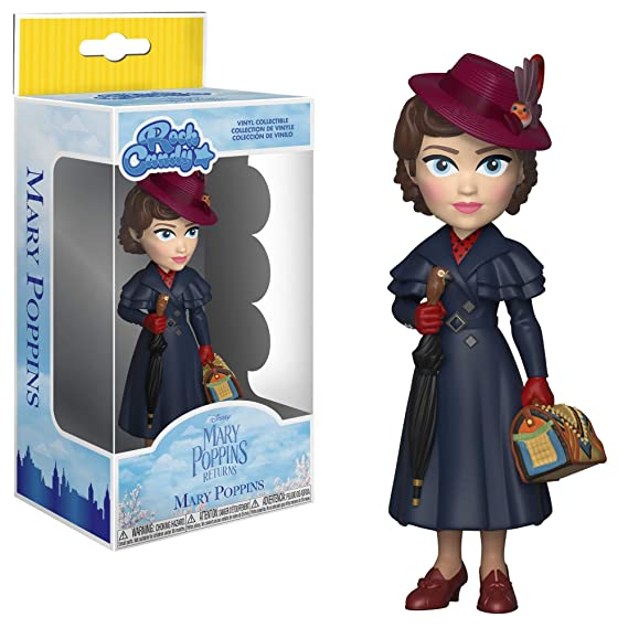 Amazon.com: Funko 33913 Rock Candy: Mary Poppins ReturnsMary Poppins Collectible Figure, , Standard, Multicolor: Toys & Games