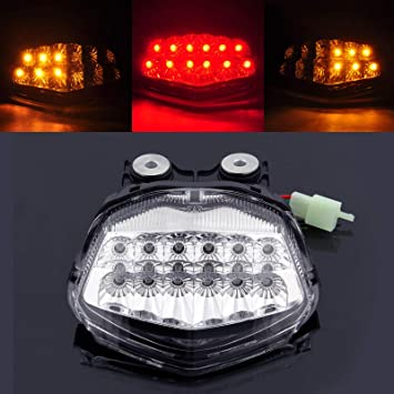 Amazon.com: areyourshop LED integrado Taillight señales de ...