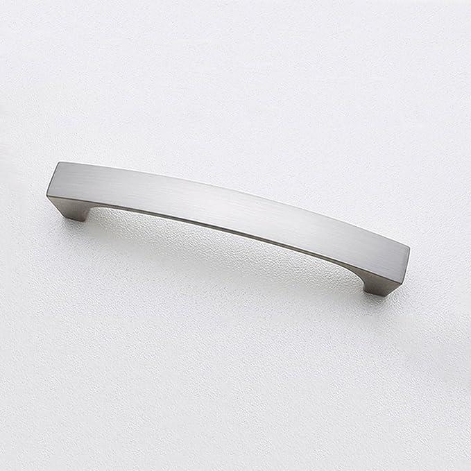 OHOME Qualität 10 Pack gebürstet Nickel Küche Schrank Schublade ...