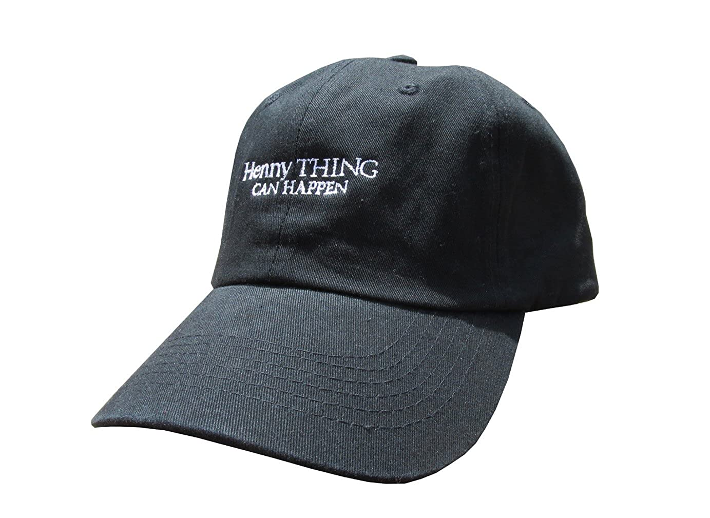 Rob sTees Henny Thing Can Happen Unstructured Twill Cotton Low Profile  Yeezus Meme Dad Hat Cap at Amazon Men s Clothing store  cea40bab5123