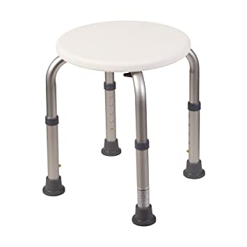 Marvelous HealthSmart Medical Tool Free Adjustable Compact Shower Stool And Bathtub  Seat, Excellent For Small